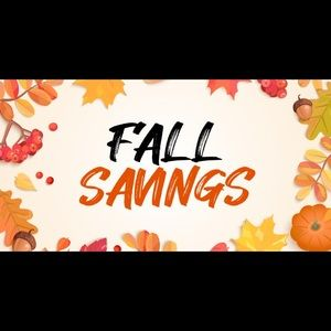 Other - FALL INTO NEW SAVINGS!🍁MAKE ME AN OFFER!🛍😁🌅🍎